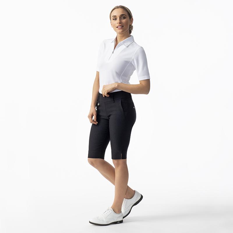 Macy 12s polo shirt white, Magic city shorts 56 cm black 001-104-100_001-269-999_656