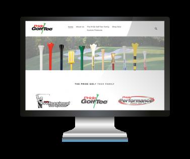 website pride golf tees